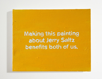 The Thoughts in My Head #59 Jerry Saltz