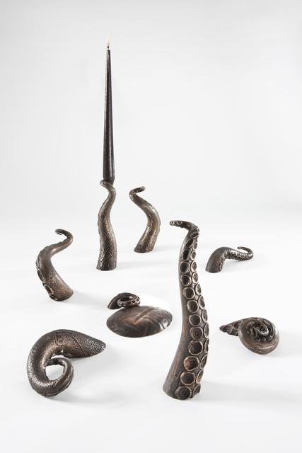 , 'Octopus candleholder,' 2012, Caroline Van Hoek