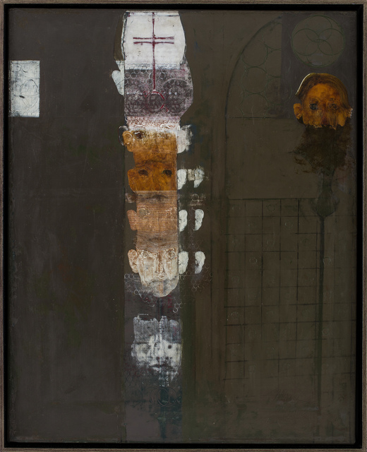 , 'A Column of Bishops,' 2013, Main Street Arts