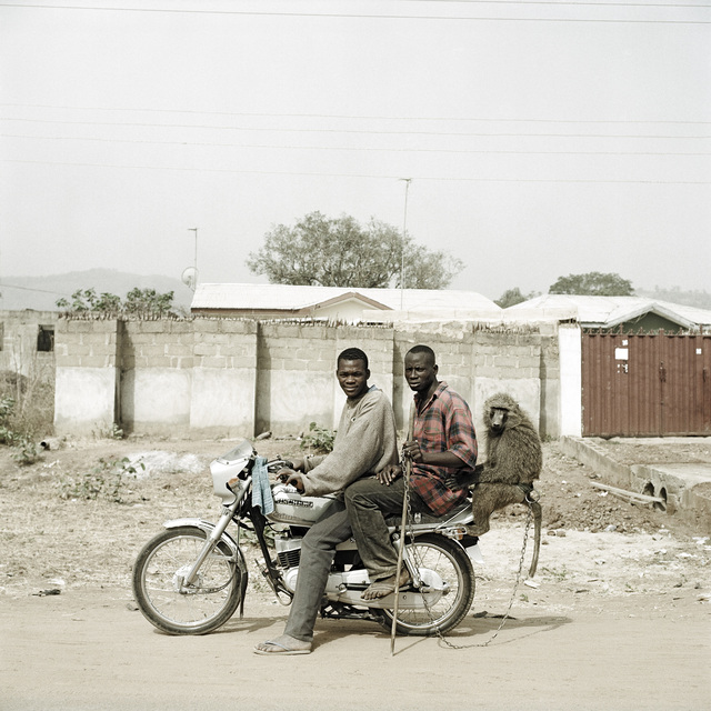 Pieter Hugo, 'Nura Garuba and friend with their monkey, Abuja, Nigeria', 2005, Stevenson