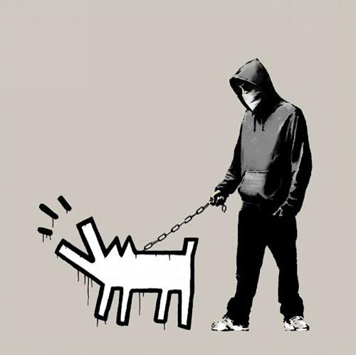 Banksy, 'Chose Your Weapon ( Queue Jumper Grey)', 2010, Contemporary Art Trader