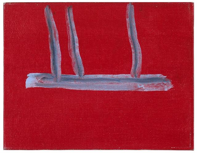 , 'Untitled (Red Open),' 1970, Templon