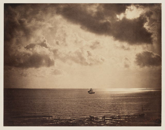 Gustave Le Gray, 'Brig on the Water', 1856, Clark Art Institute