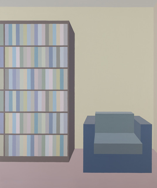, 'Library #10,' 2018, Inda Gallery