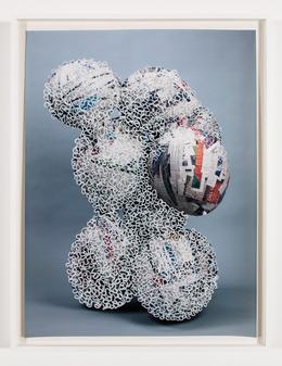 Nicolas Lobo, 'Balloon collage (Palsy version #9 (interrupted))', 2013, Nina Johnson