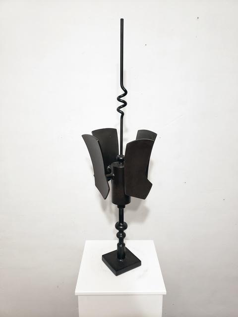 Charles Emlen, 'Quadrastatic Rangefinder', 2019, Sculpture, Welded steel, InLiquid