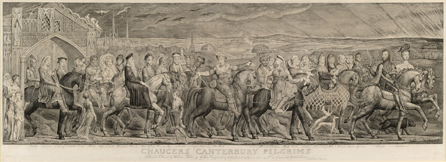 , 'Chaucer's Canterbury Pilgrims,' 1809-1810, The Fine Art Society