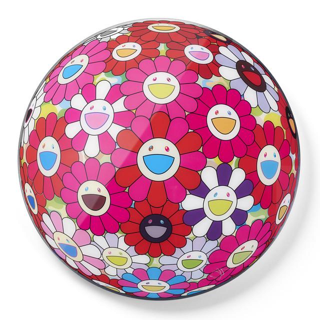 Takashi Murakami, 'Flower Ball (3D) Turn Red! ', 2013, Galleri GKM