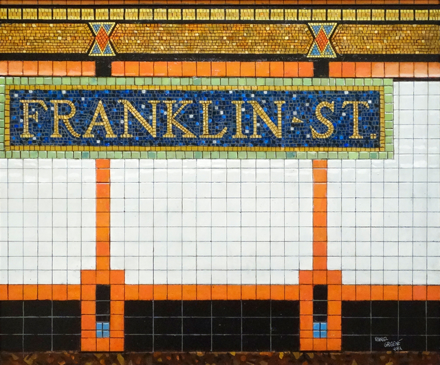 , 'Franklin Street,' 2012, Gallery Henoch