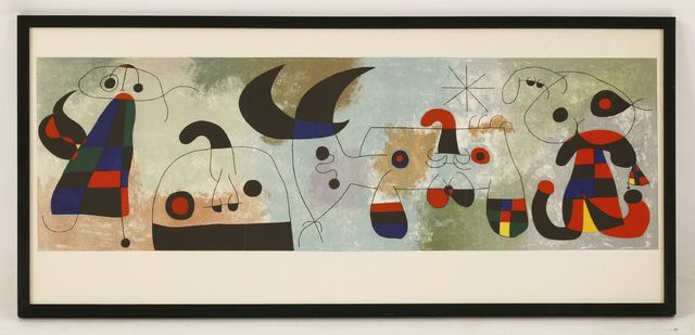 Joan Miró, 'Peinture Murale', 1951, Print, Lithograph printed in colours, Sworders