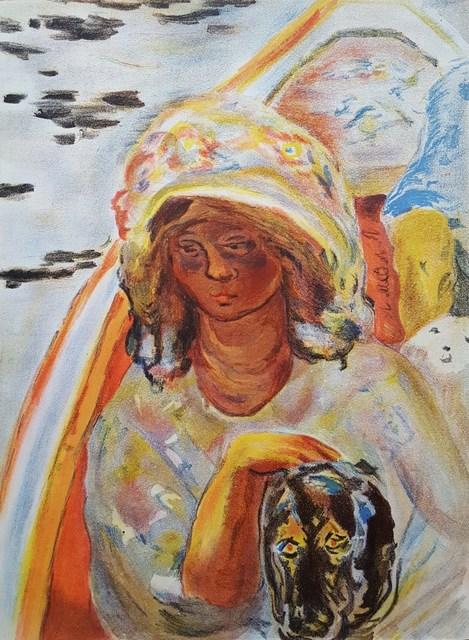 Pierre Bonnard, 'Jeune Fille dans un Barque', 1939, Graves International Art