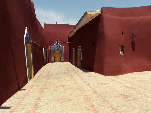 , 'Kastina Emirate (Palace),' 2012, TAFETA