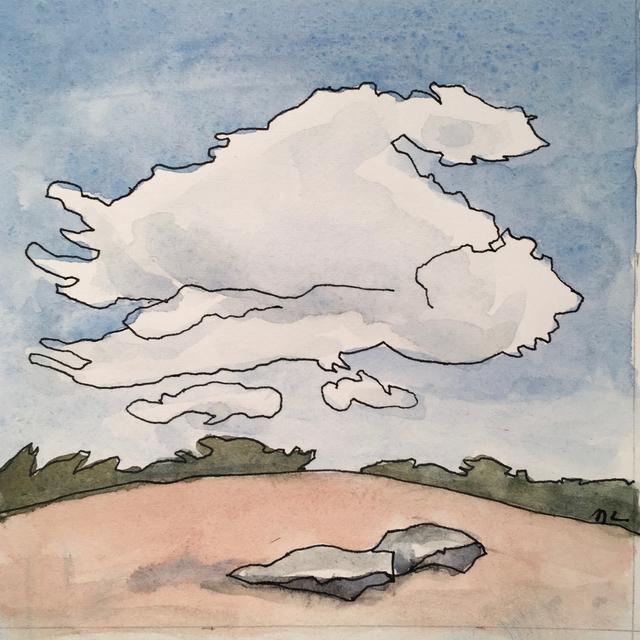 , 'Santa Fe Landscape,' 2017, Clyde Hogan Fine Art