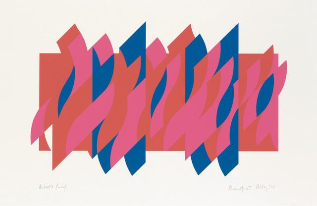 Bridget Riley, 'Red Red Blue ', 2010, Karsten Schubert