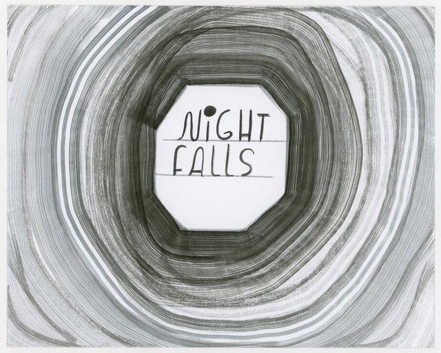 , 'Night Falls,' 2014, Petra Rinck