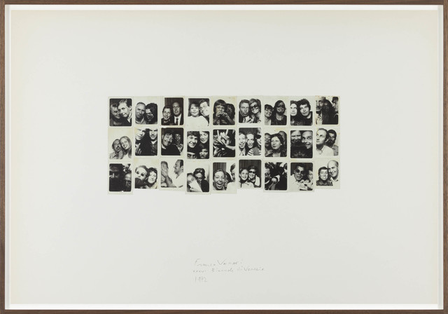 Franco Vaccari, 'Esposizione in tempo reale N.4 Lascia su queste pareti una traccia fotografica del tuo passaggio', 1972, P420