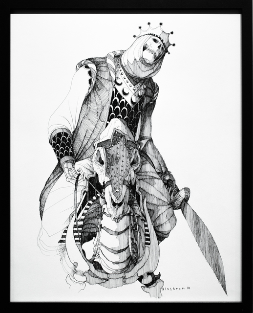 , 'Dead King 14 [5th Century Mandé Lord],' 2018, Paradigm Gallery + Studio