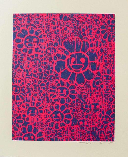 Takashi Murakami, 'Madsaki Flowers (C Pink)', 2017, Lougher Contemporary