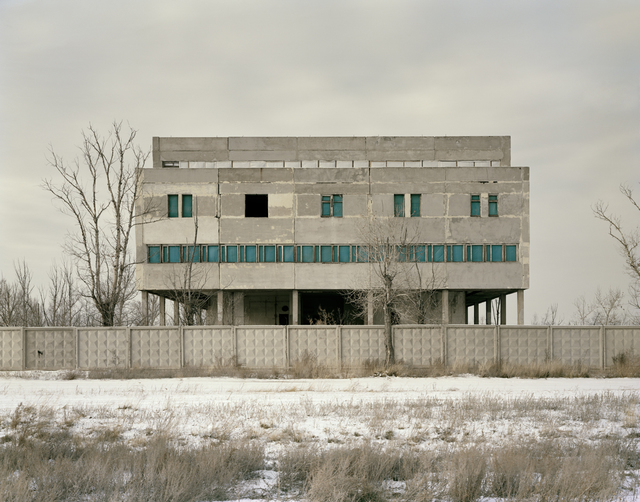 , 'Kurchatov IV (Telephone Exchange), Kazakhstan,,' 2011, Flowers