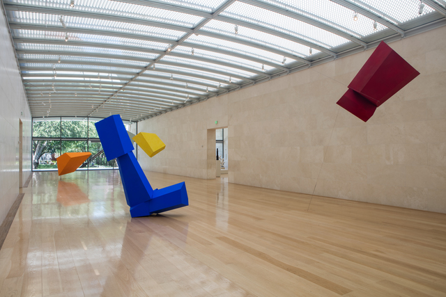 , 'Installation view, Joel Shapiro, Nasher Sculpture Center,' 2016, Nasher Sculpture Center