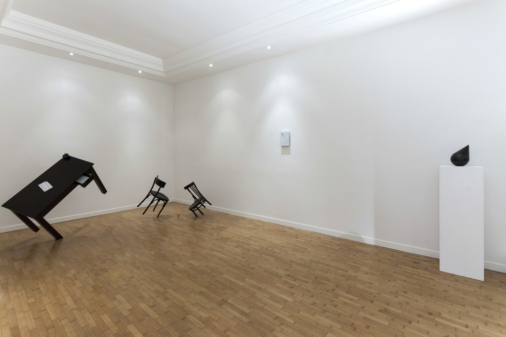 "Installation view Emmanuele De Ruvo ""Meta-Phora, from the Physical to the Moral"""