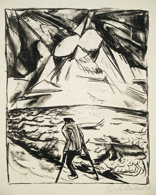 , 'Krüppel am Meer,' 1916, Henze & Ketterer