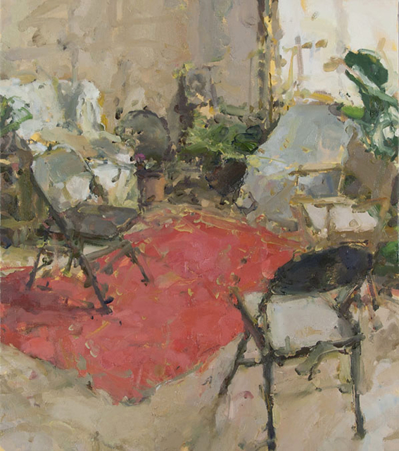 , 'Interior with Five Chairs V,' 2016, Gallery 1261