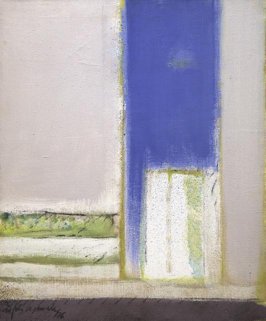 , 'Obertura blava,' 1976, Galería Joan Prats