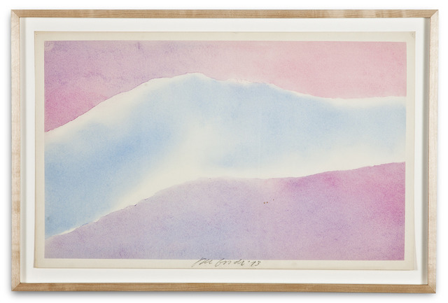 , 'Torn Sky Drawing,' 1973, Kohn Gallery