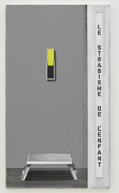 , 'Squint 25,' 2015, David Risley Gallery