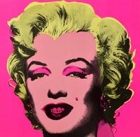 Andy Warhol, Marilyn Invitation Card (Castelli Gallery)