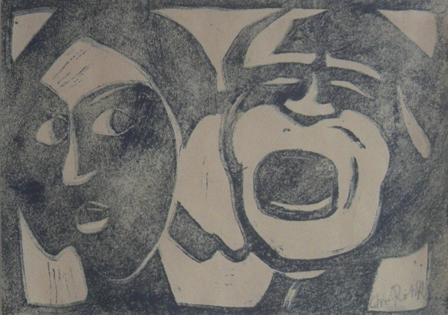, 'Grotesque Heads (Calm and Passion),' 1915, Galerie Thomas