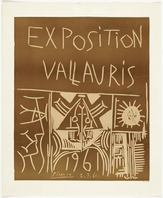 Pablo Picasso, 'Exposition Vallauris', 1961, Koller Auctions
