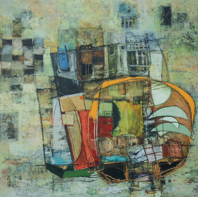 , 'Floating City VII,' 2017, Addis Fine Art