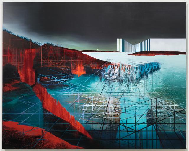 , 'Data Lake,' 2018, Slag Gallery