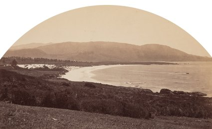 Carmel Beach from Cypress Drive