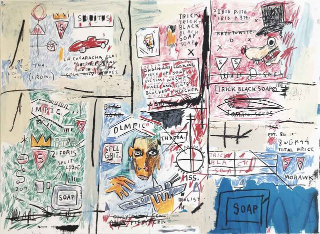 Jean-Michel Basquiat, 'Olympic', 2017, Print, Original screenprint in colors on Somerset Satin Paper, michael lisi / contemporary art