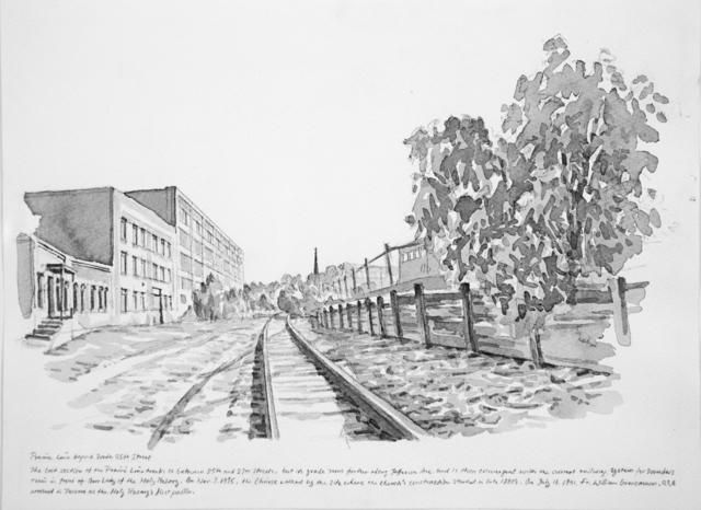 , 'The Prairie Line beyond South 25th Street,' 2017, Koplin Del Rio
