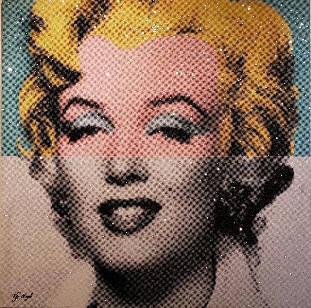 Kfir Moyal, 'Iconic Marilyn ', 2018, Off The Wall Gallery