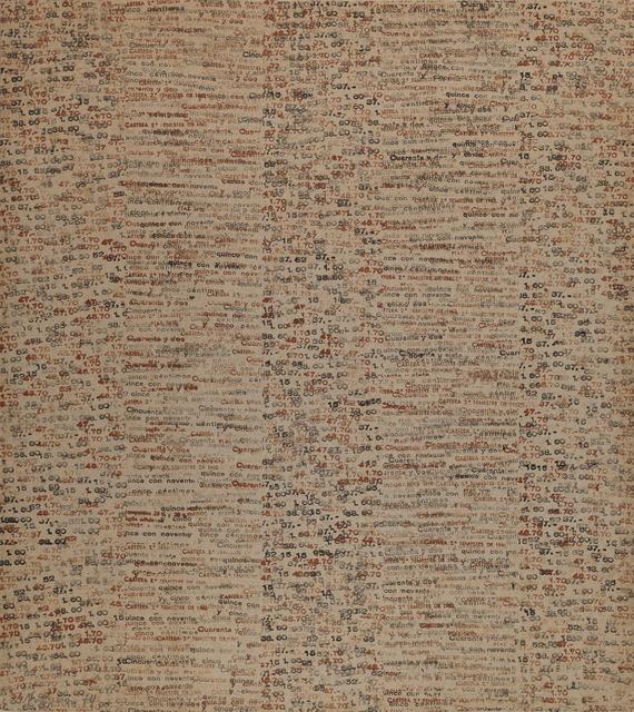 pere noguera, 'Untitled', 1974, GALERÍA JOSÉ DE LA MANO