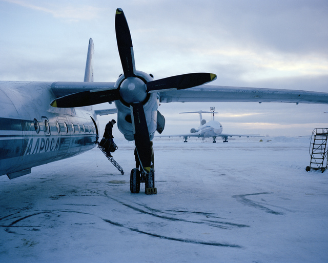Simon Roberts, 'Motherland #23, Abandoned warship in the Kola Bay, Murmansk, Northwestern Region, Jan 2008', 2004-2005, The Photographers' Gallery   Print Sales