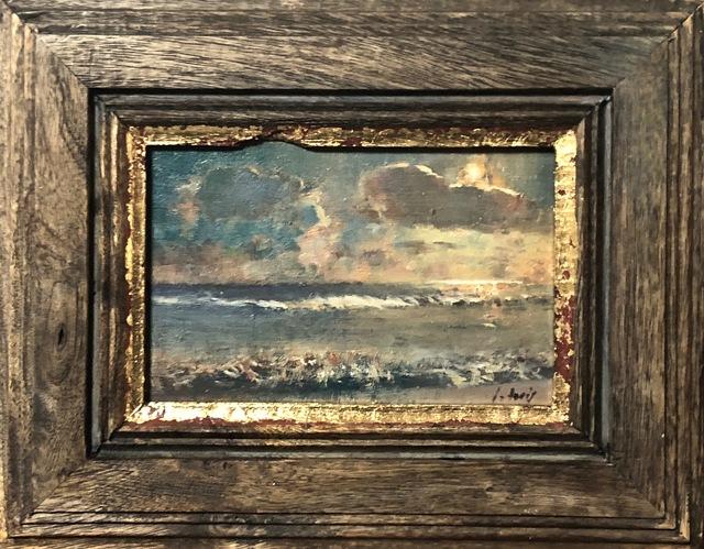 Julyan Davis, 'Evening Study', 2019, Painting, Oil on board, Helena Fox Fine Art