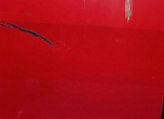 , 'Scratched Red,' 1976-2012, Galería Cayón