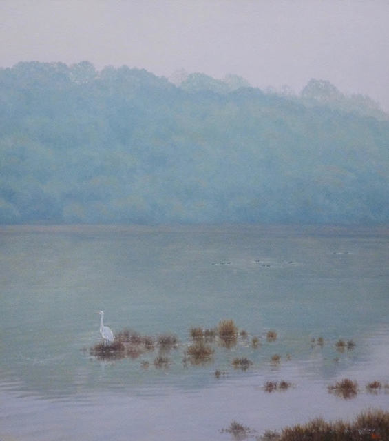, 'Landscape with Egret ,' 2019, Andra Norris Gallery