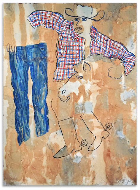 , 'The Man Who Found His Pants and His Horse,' 2015, Anna Zorina Gallery