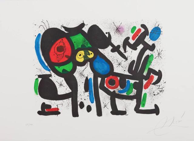 Joan Miró, 'Magie Blanche II', 1981, Galerie Simon Blais