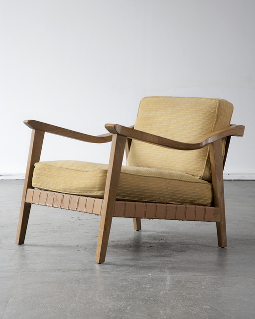 ", '""Palimino"" lounge chair,' ca. 1947, R & Company"