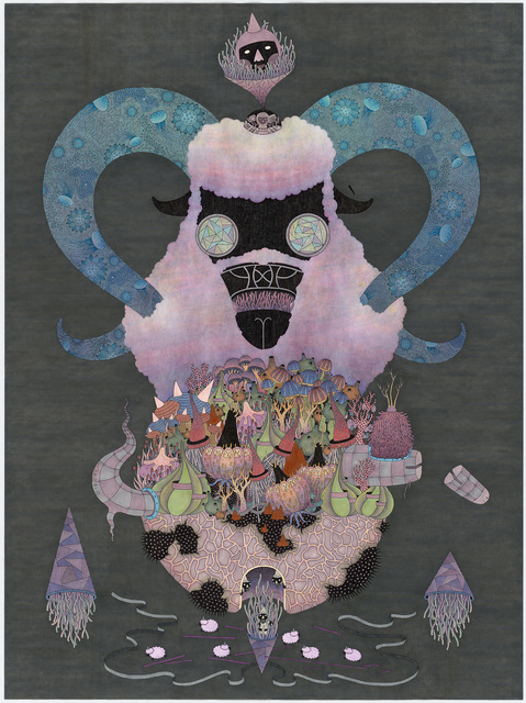 , 'Counting Sheep Man,' 2015, Dynasty Gallery