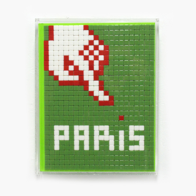 Invader, 'Invasion Of Paris 2.0', 2012, Station 16 Gallery