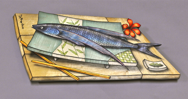 , 'Tabiuo (flying fish) Tray,' 2011, Gallery NAGA